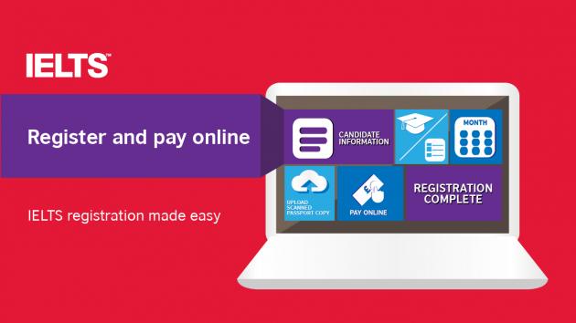 Register Online IELTS Exam